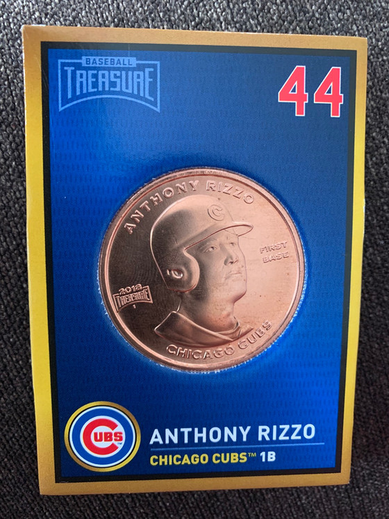 Chicago Cubs Coins from Baseball Treasures