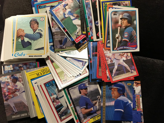 Latest Trade Nets 155 Cubs Cards With More Ryno's and Some 1970's