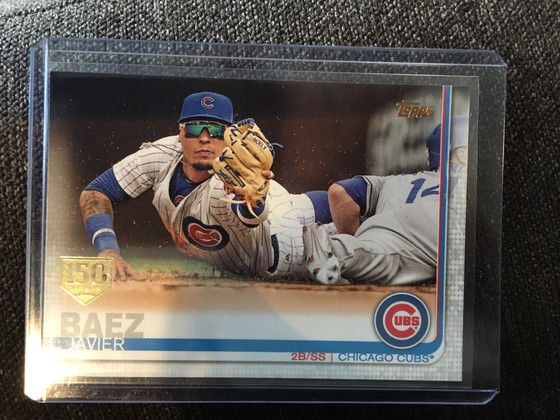 Another New Javier Baez Added to the Cubs Collection