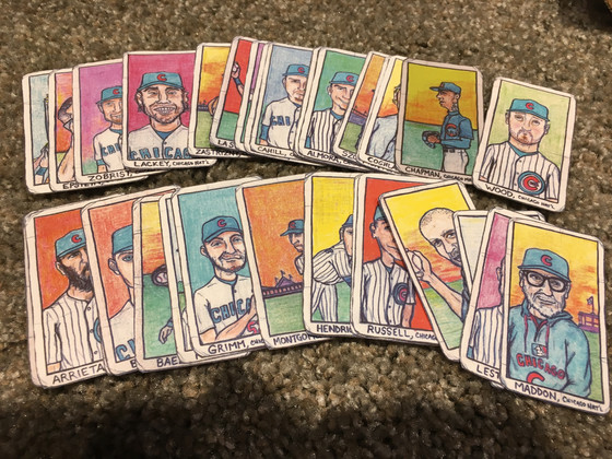 Two Weeks Worth of Mail Days Adds 3,668 Cubs Cards