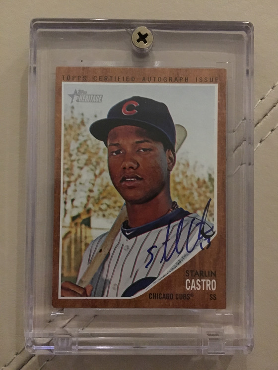 Quality Trade Brings in a Certified Chicago Cubs Autograph