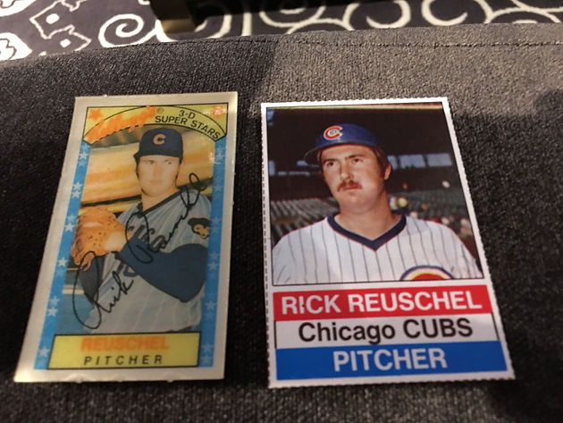 Rick Reuschel Parallels And Sandbergs Galore One