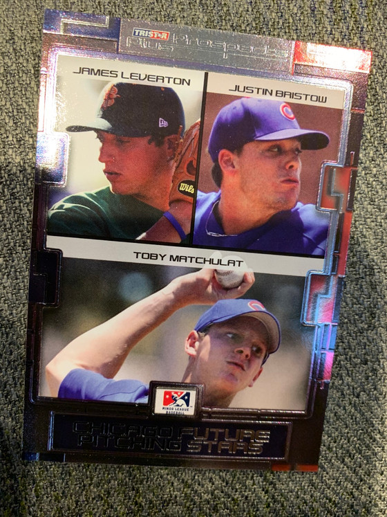 Cubs Minor League Baseball Card Hits from Shane