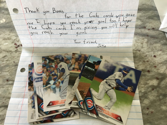 Another 2,406 Cubs Cards Added To The One Million Cubs Project This Week
