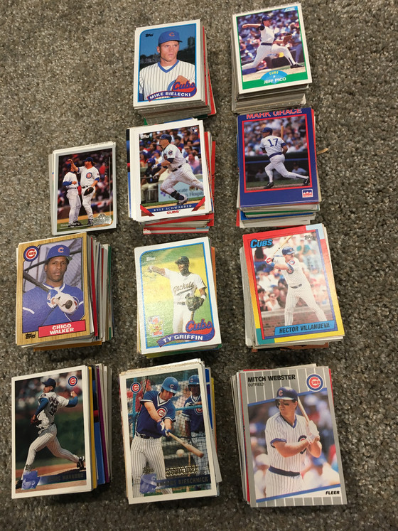 Opening Day Special With More Than 1,000 Cubs Cards