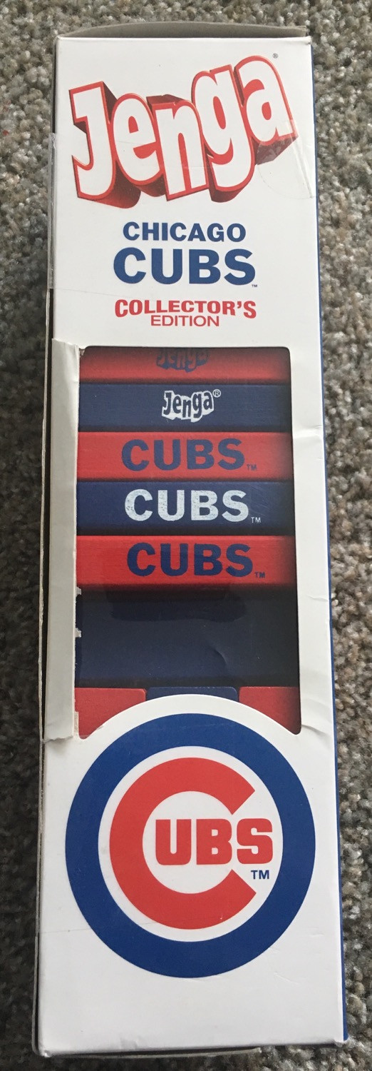 Cubs Jenga and some Topps Living...I Mean Archives Rookies