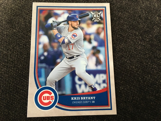 Topps Big League and Stadium Club 2018 Review