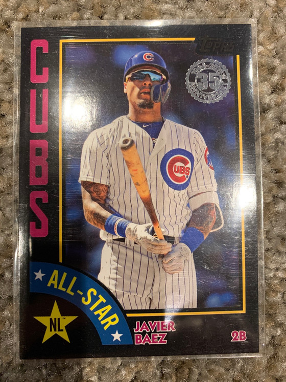 On Pace to Hit the 2019 Cubs Baseball Card Goal