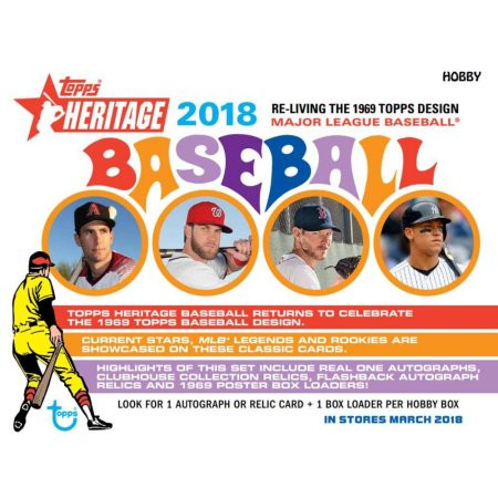 Previewing The 2018 Topps Heritage Cubs Checklist