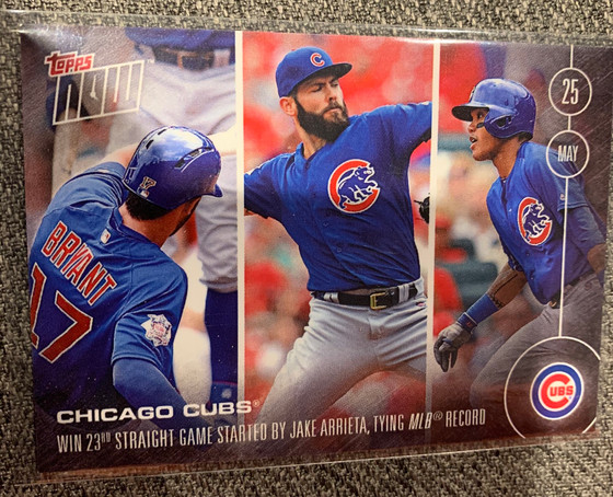 Vermont Sends Some Panini Chronicles and Kris Bryant