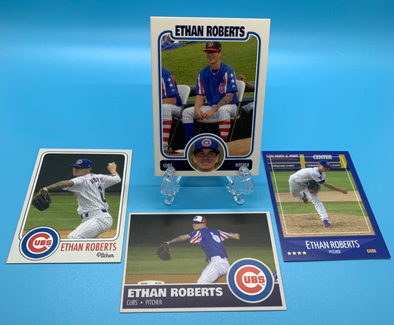 Customs and Minor League Cards for Cubs Spring Training