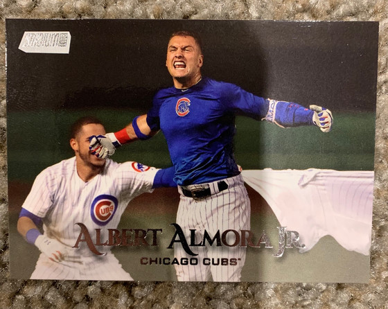 Cubs Baseball Card Mailday from A to Z