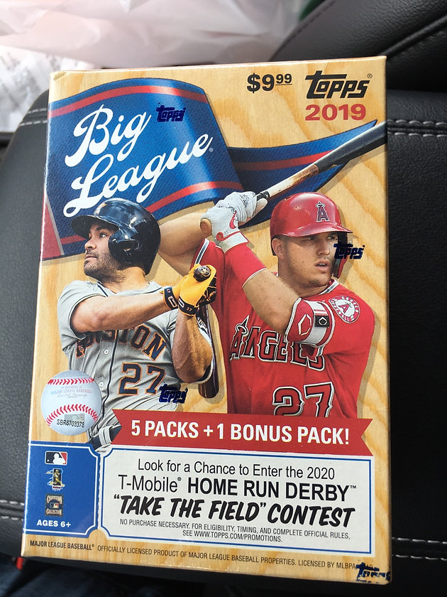 2019 Topps Big League Review | Home