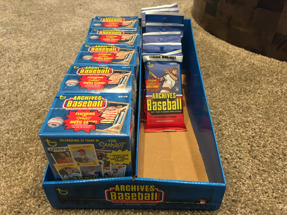 Topps Archives Hits Retail Shelves - Cubs Review
