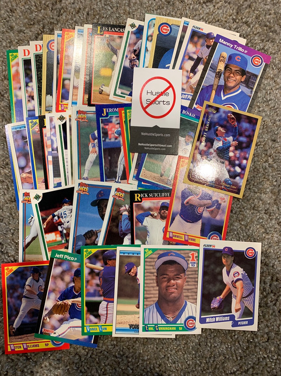 No Hustle Sports and John in Michigan Cubs Mailday
