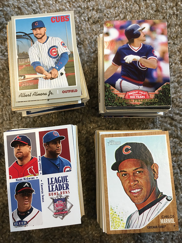TGIF Hits With 2019 Donruss | One Million Cubs Project - Chicago