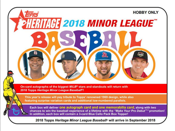 2018 Topps Heritage Minors Preview