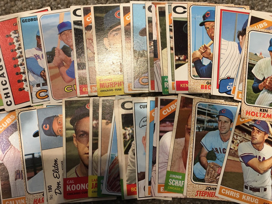 Serendipitous Hand Delivery of Vintage Cubs