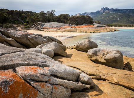 """""""Slow down, recharge on Flinders Island""""."""