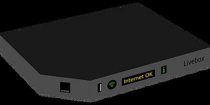 Box, livebox, freebox, bbox, sfrbox, décodeur, TV, démodulateur, WIFI, paramétrage, configuration, internet