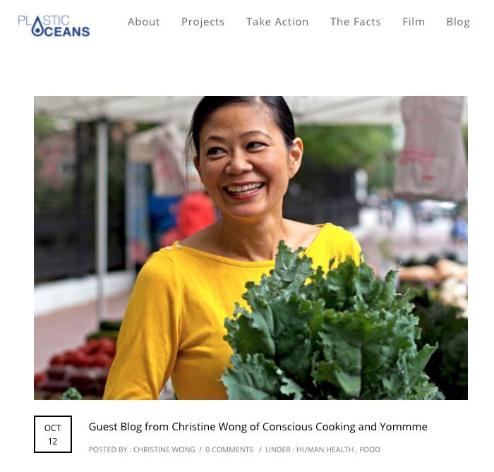 Plastic Oceans Foundation - Oct 2017