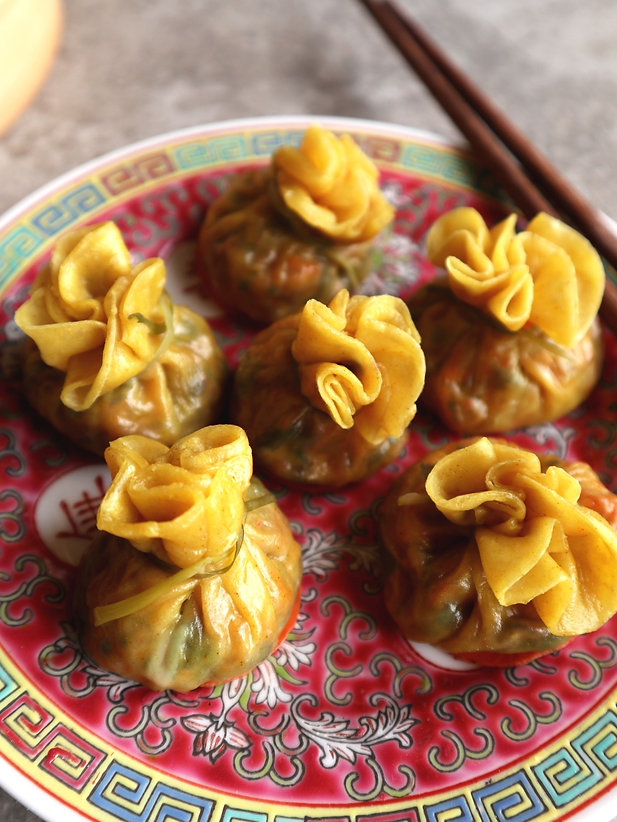 money bag dumplings