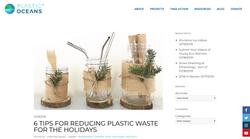 Plastic Oceans – Dec 2018