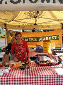 Union Square Farmer's Market Demo