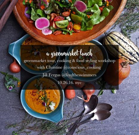 A Greenmarket Lunch