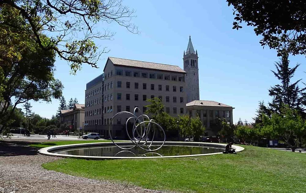 Une partie du campus de l'Université of Berkeley