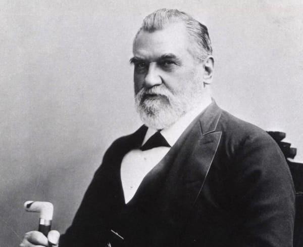 Photo de Leland Stanford, fondateur de Stanford university