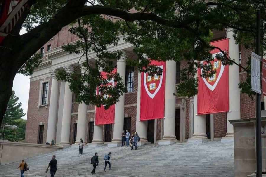 Le bâtiment principal de la Harvard University