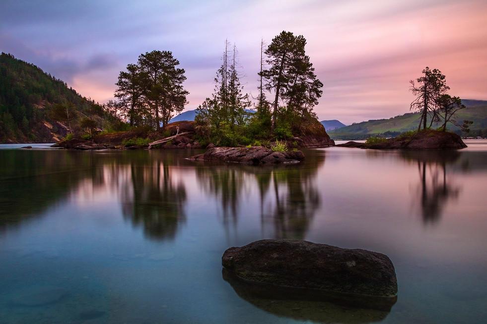 Lake Cowichan Reflections