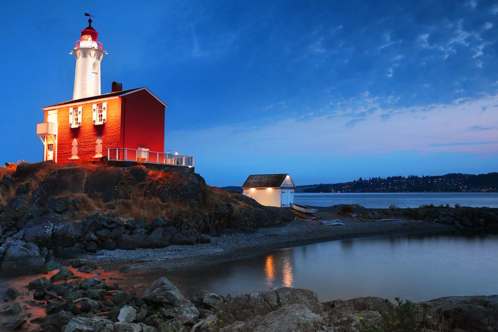 Fisgard Lighthouse Evening Glow