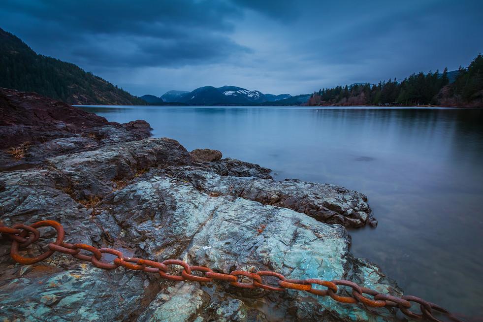 Cowichan Lake Dusk
