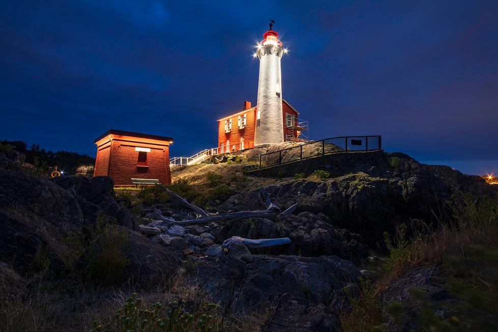 Fisgard Lighthouse Twilight