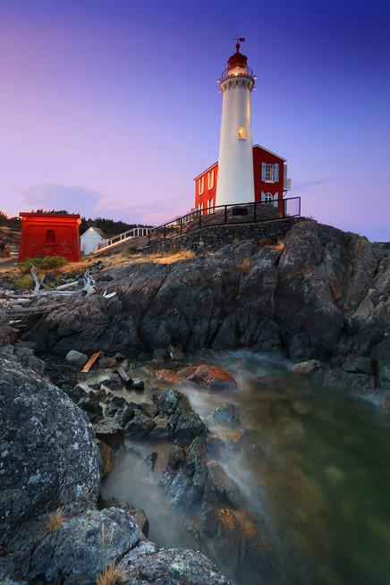 Fisgard Lighthouse Dusk