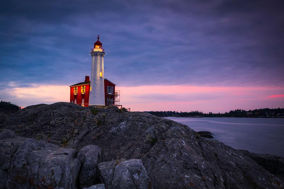 Fisgard Lighthouse Sunset