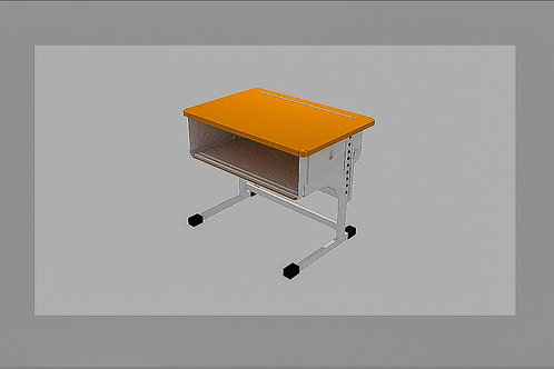 Student's table 3d model