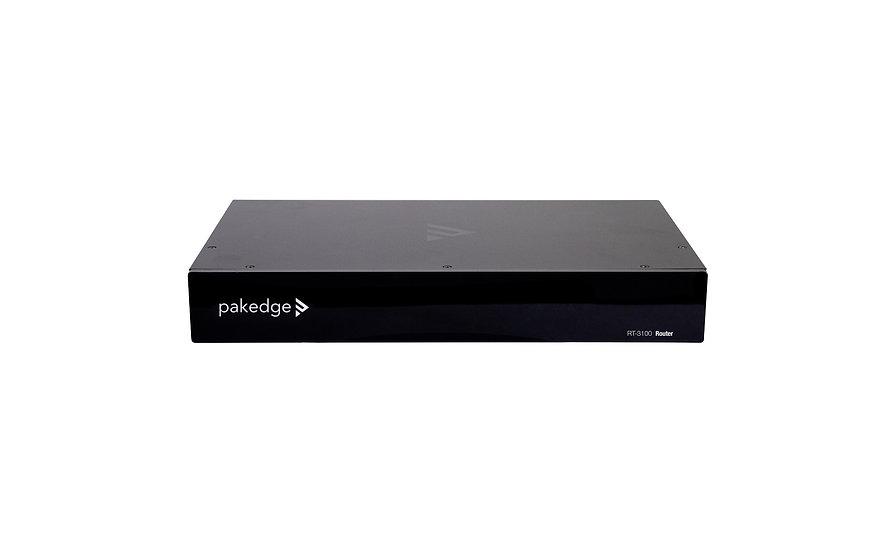 Pakedge RT-3100 Gigabit 1 WAN 4 LAN Router with BakPak