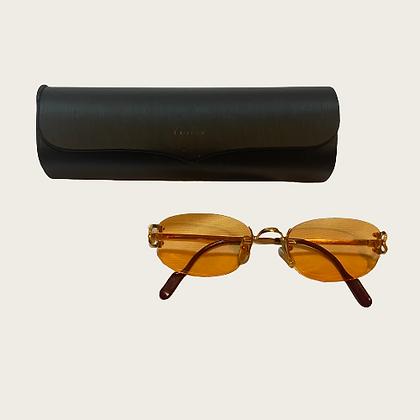 Orange Tint Cartier Sunglasses