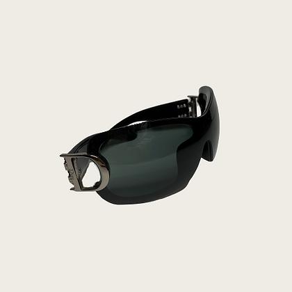 Black Silver Dior Sunglasses