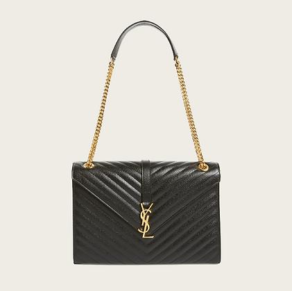 Yves Saint Laurent Large Monogram Shoulder Bag