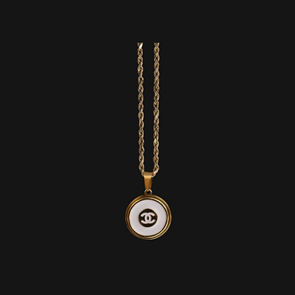 Blanc Chanel Necklace