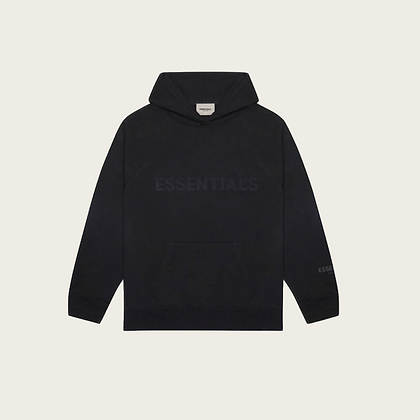 Fear of God Essentials Pullover Hoodie in Black