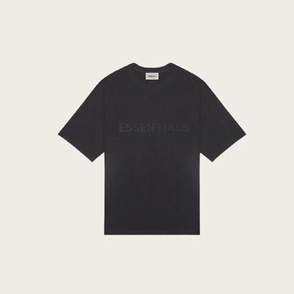 Fear of God Essentials Boxy Short Sleeve T-Shirt in Black