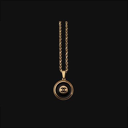 Noir Chanel Necklace