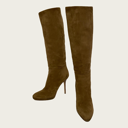 Jimmy Choo Suede Knee High Boot