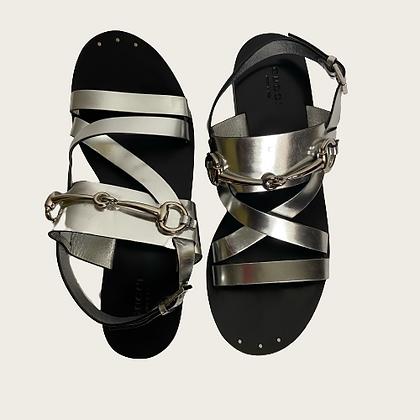 Gucci 1955 Horsebit Slingback Sandal