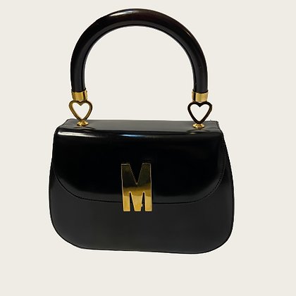 "Vintage Moschino ""Kelly"" Handbag"